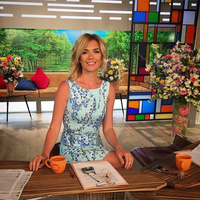 Фото с телеведущими доброе утро